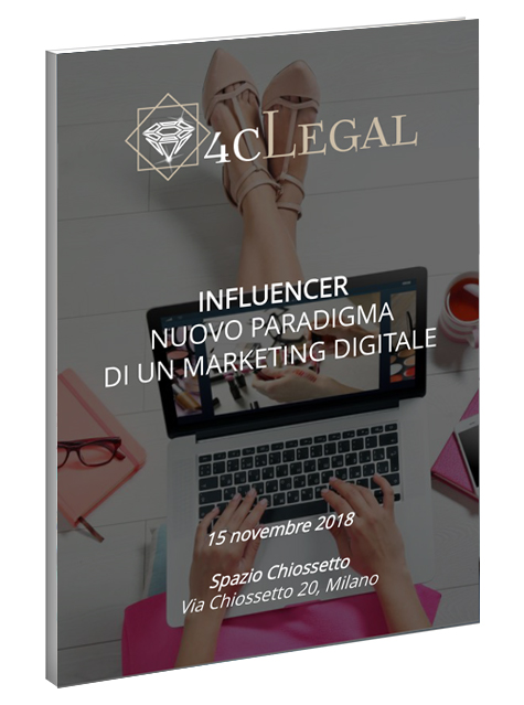 eBook evento Influencer 15 novembre 2018