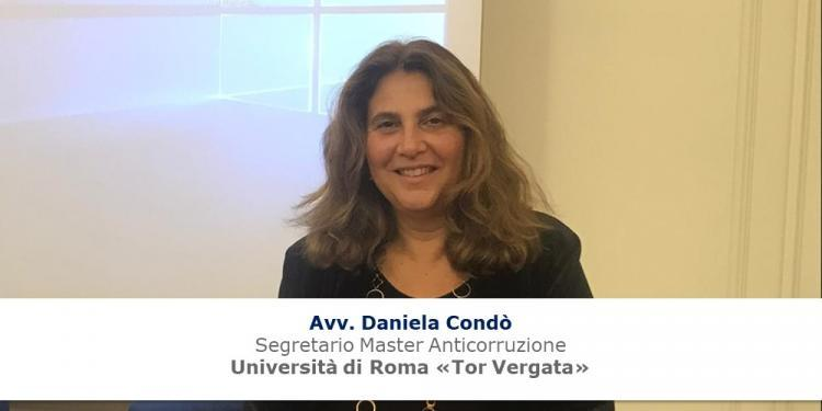 Immagine dell'articolo: <span>La prevenzione della corruzione negli appalti pubblici: intervista a Daniela Condò del Master Anticorruzione dell'Università di Roma Tor Vergata</span>